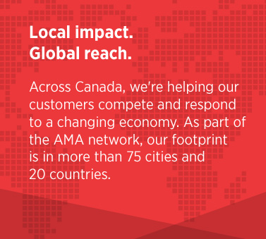 local impact. global reach