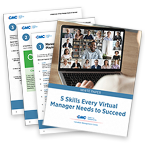download to learn about the 5 essentials skills virtual managers need