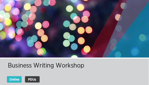 2-Day Business Writing Workshop Live Online