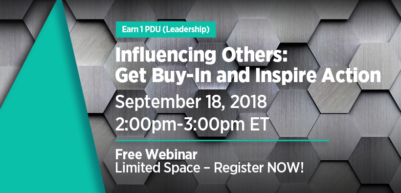 Influencing Others Webinar Sep 18 2018